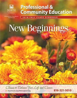 Professional & Community Education Brochure