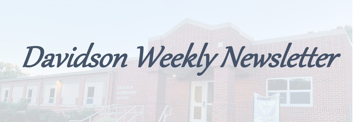 Davidson Weekly Newsletters