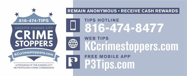 KC Crime Stoppers 816-474-8477