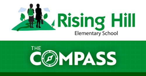 Rising Hill Compass Newsletter logo