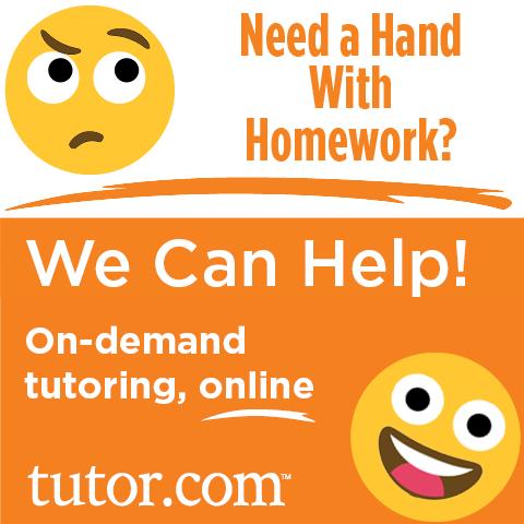Live homework help library