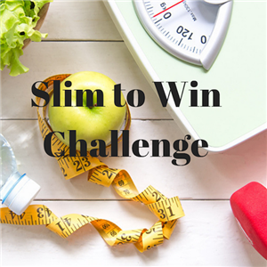 Slim to Win Challenge graphic image