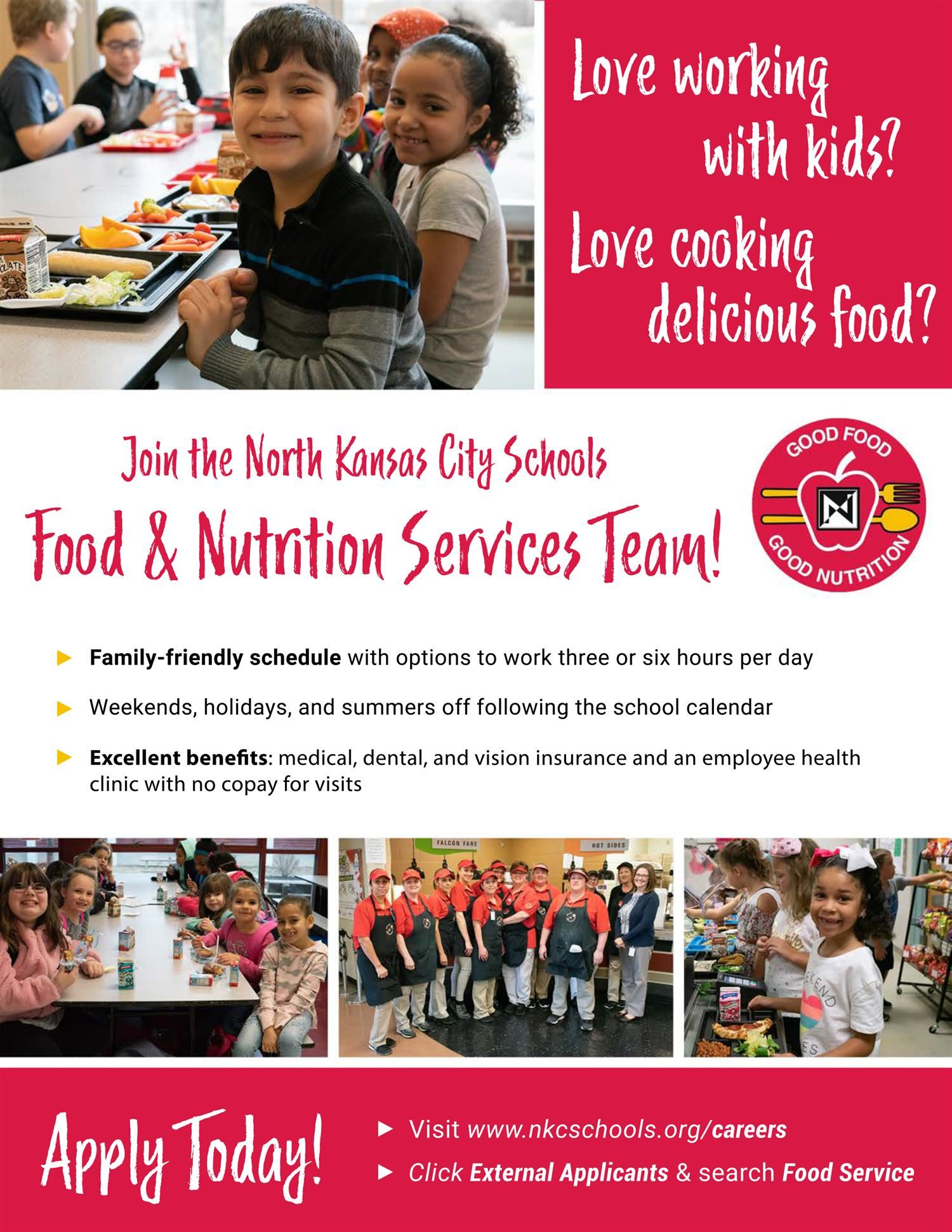 Food and Nutrition Services flyer