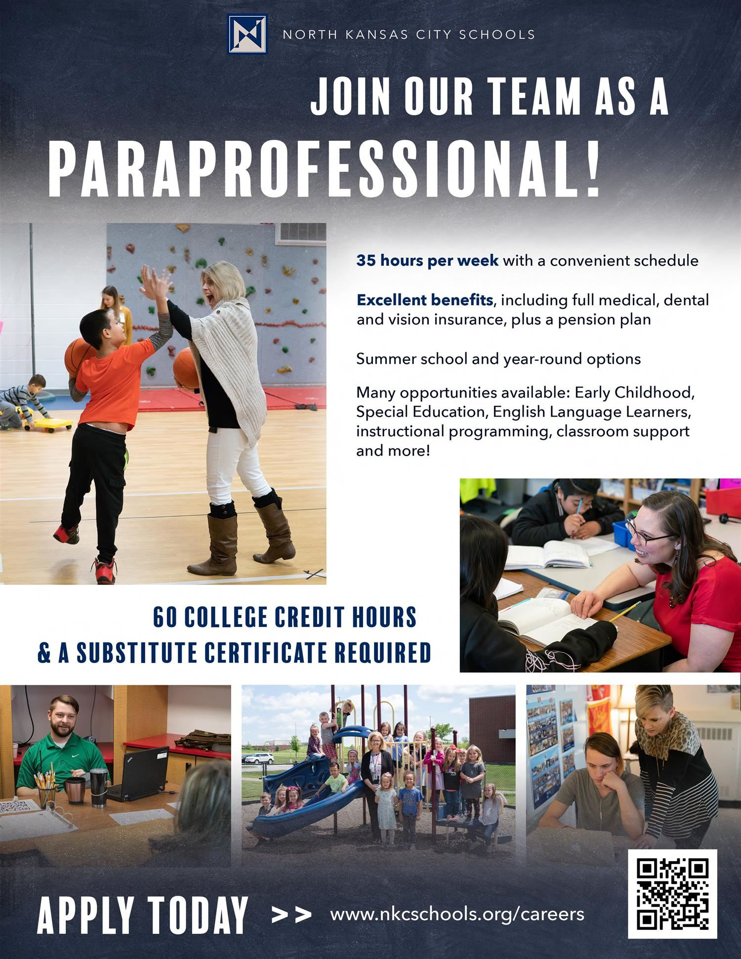 paraprofessional flyer