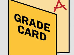 Grade Cards for 1st Quarter