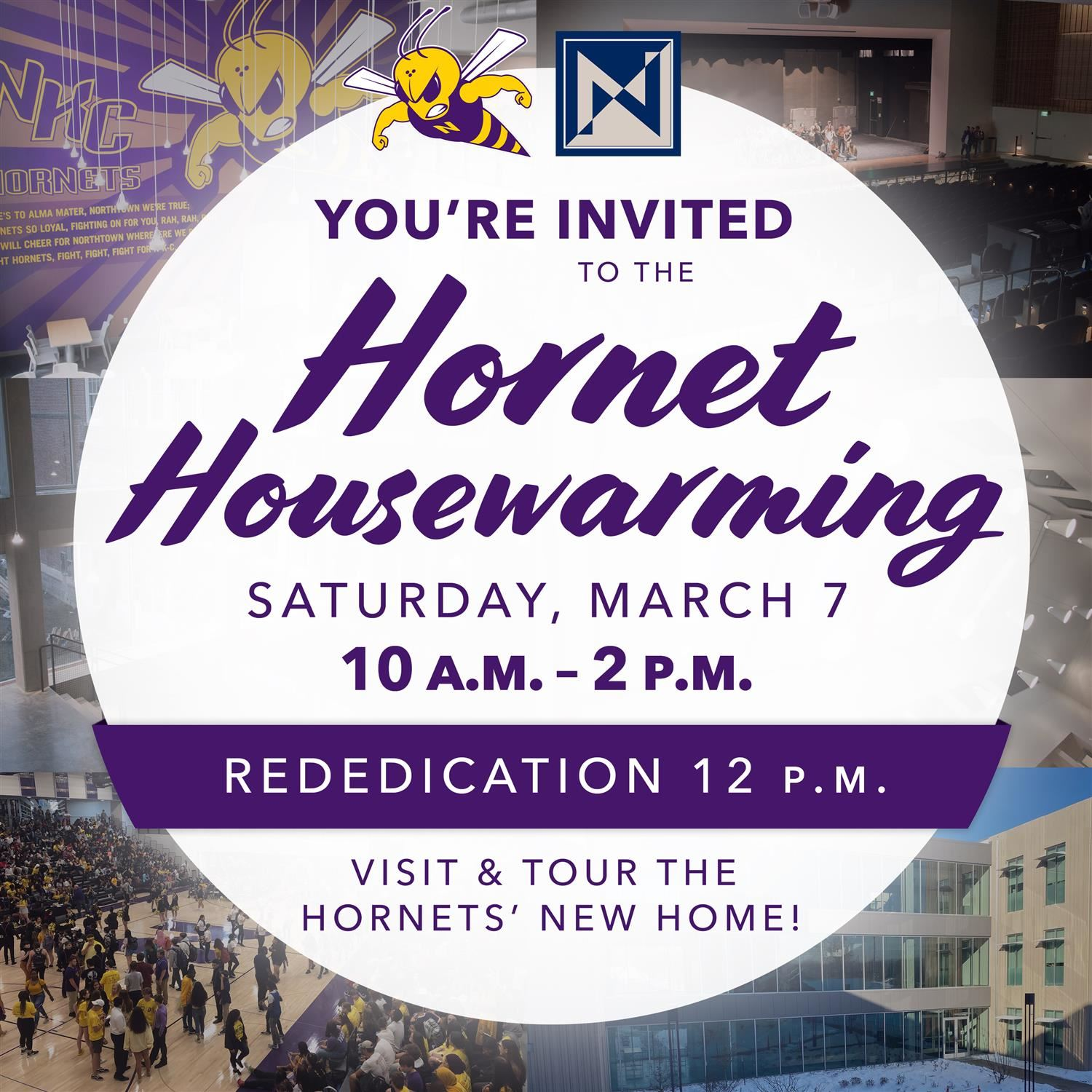 Hornet Housewarming Invitation