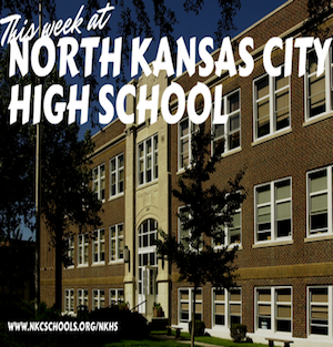 Graphic image of This Week at North Kansas City High School.