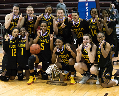 Lady Hornets Make History as State Champs