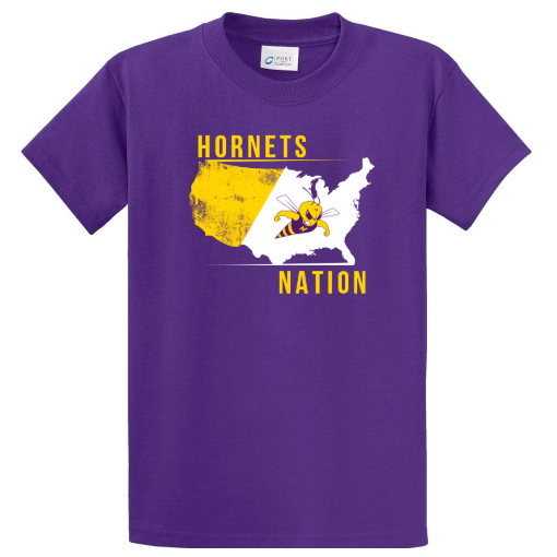NKC purple spirit t-shirt