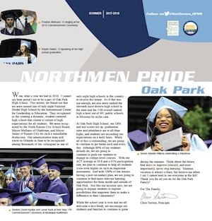 Cover photo of Northmen Pride Newsletter