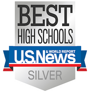 U.S. World & News Report Best High Schools Silver logo