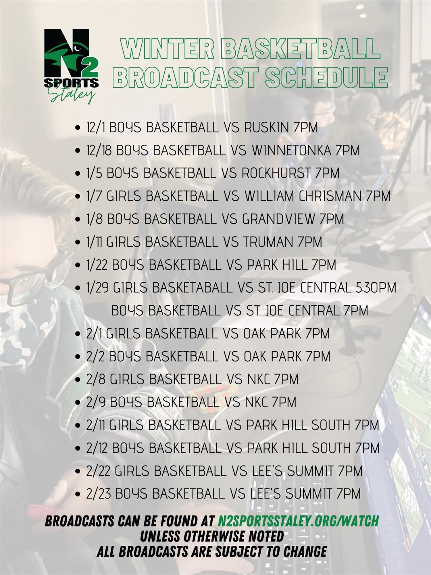 sports sched