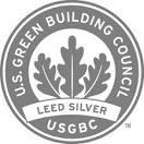 LEED Silver Certification Logo from USGBC