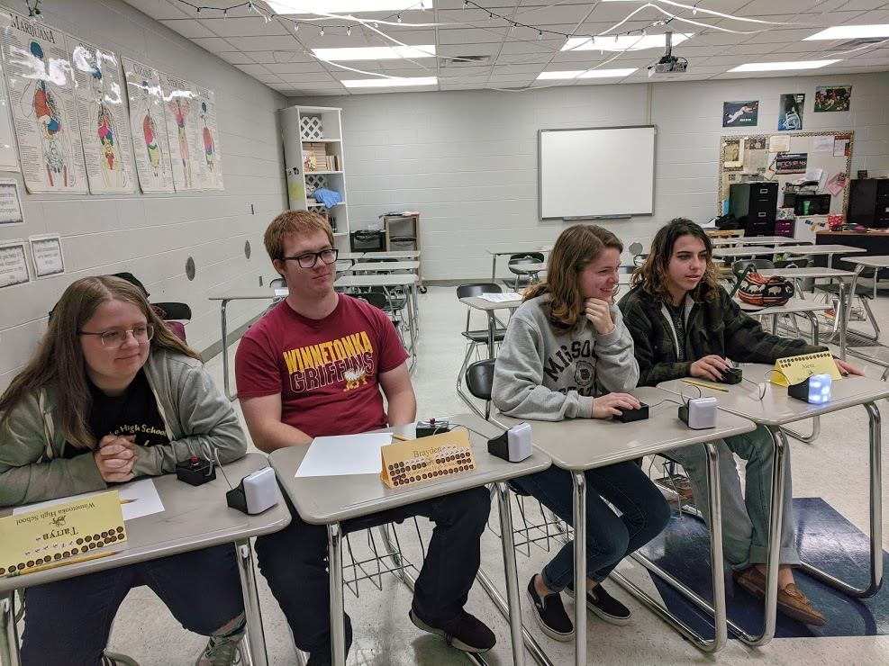 Scholar Bowl Teammate Named to the All-Tournament Team