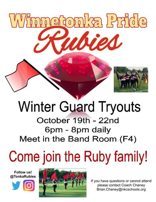 Rubies Tryout
