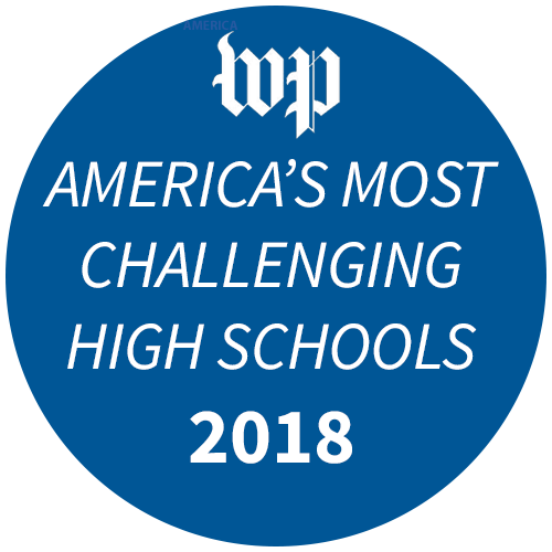 Washington Post America's Most Challenging High Schools 2018 badge