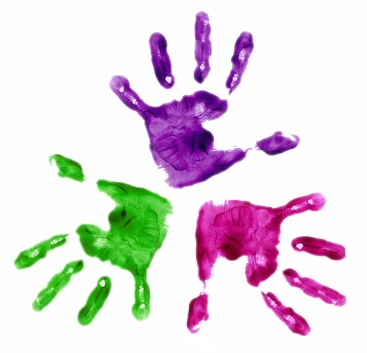 Handprint graphic image