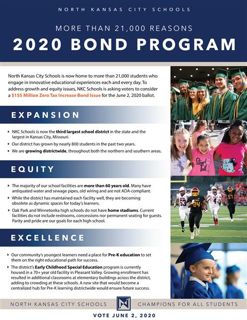 District Bond 2020 Flier Image